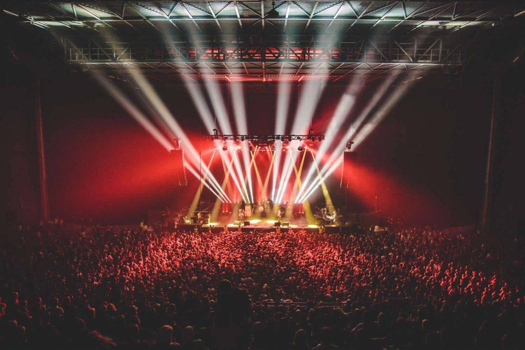 ZigZag Lighting Ltd - The Cribs at Leeds Arena. Photo credit: Danny Payne