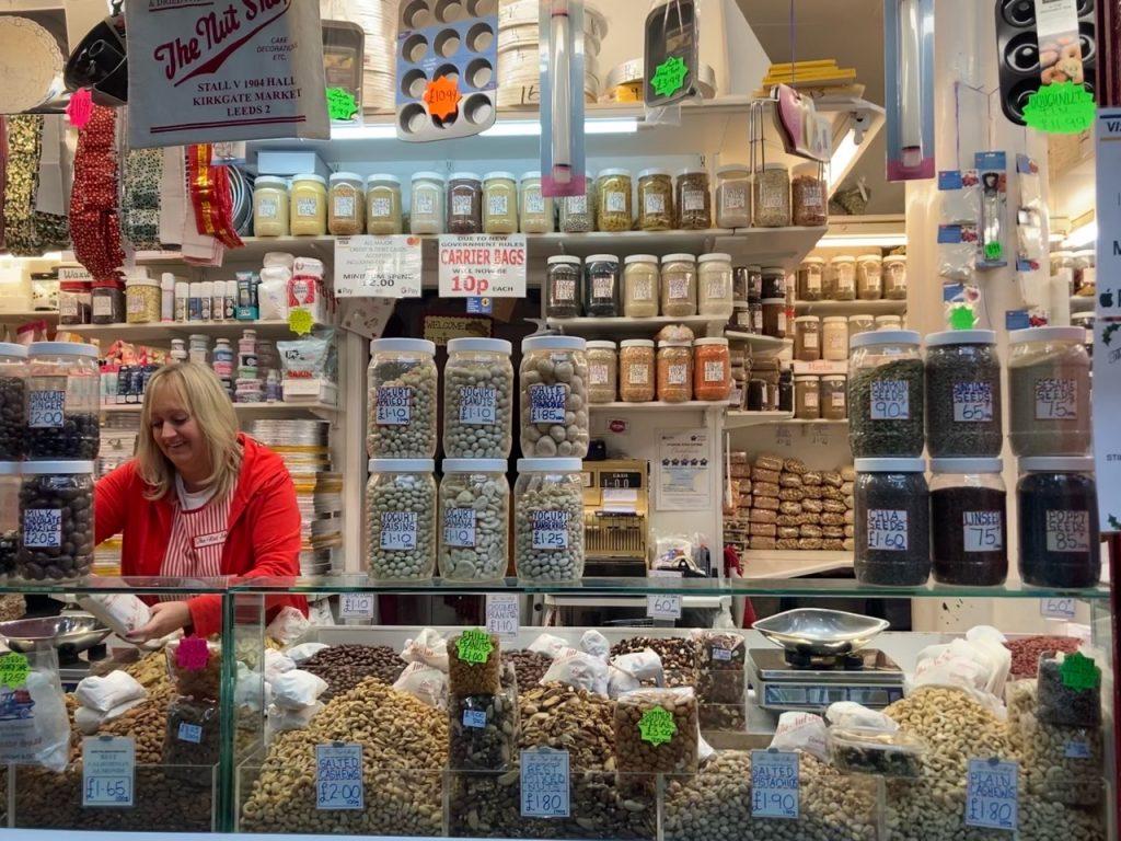 Leeds Market shops helping people go zero waste